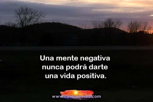 magen de pensamiento positivo